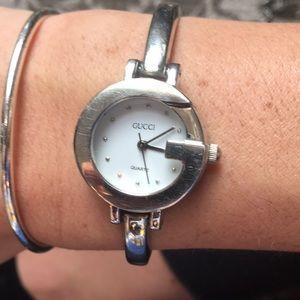 Gucci silver watch